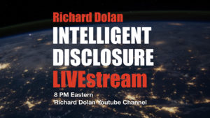 New show: Intelligent Disclosure with Richard Dolan
