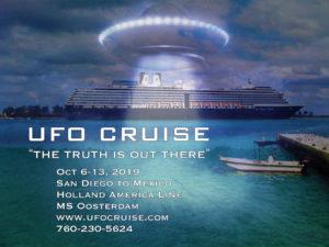 UFO Cruise Oct 2019