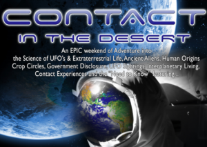 Contact In The Desert 2019 May31-Jun3rd