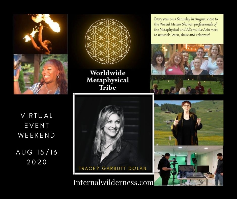 Tracey Garbutt Dolan at Metaphysical Tribe Virtual Event
